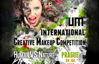 INTERNATIONAL CREATIVE MAKEUP COMPETITION 'HUMAN VS NATURE'